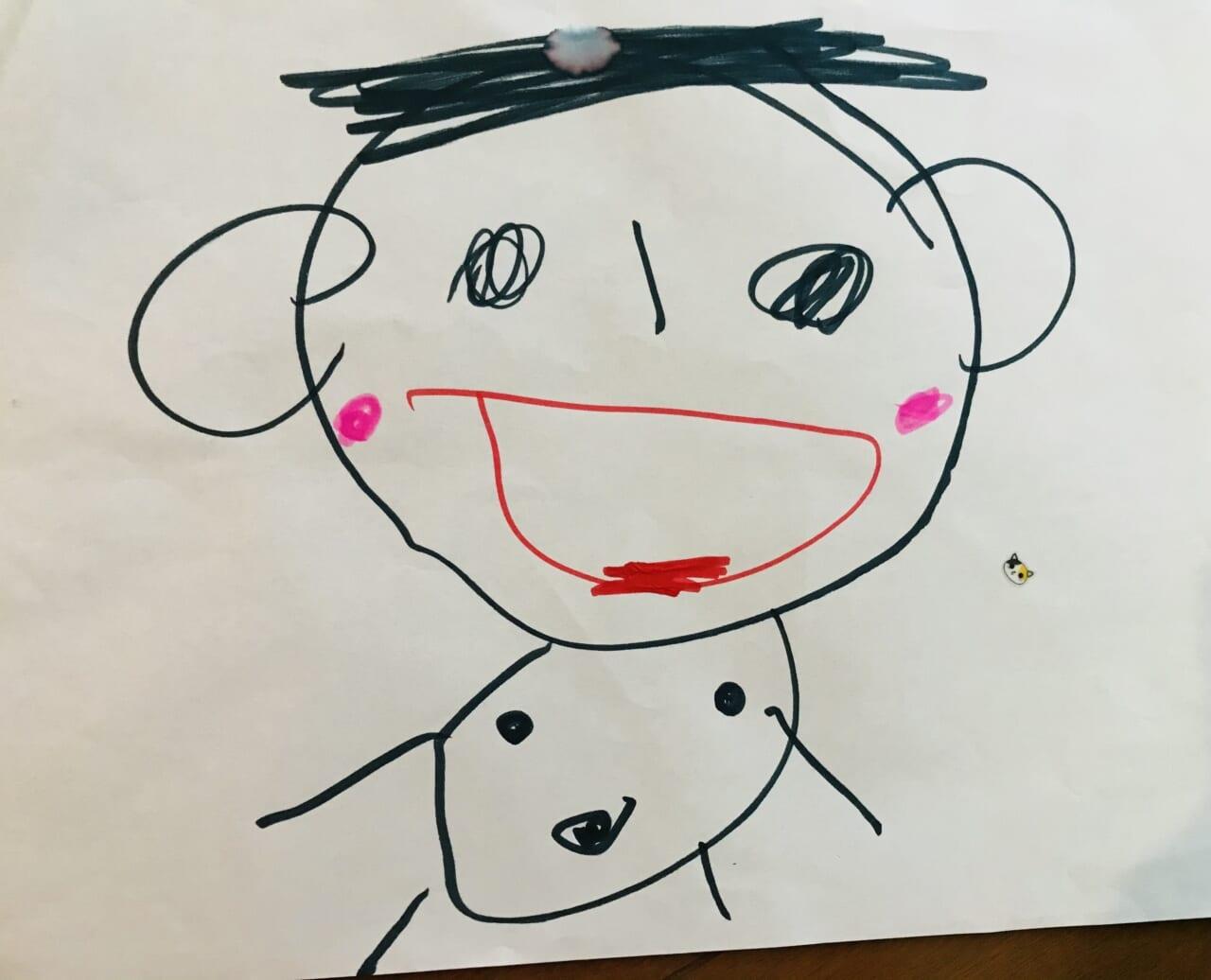 #3歳 自画像⁉︎