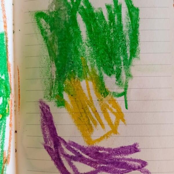 #2歳 カラフル笑顔