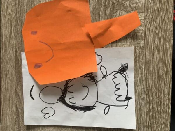 #4歳 わたしとニコちゃん