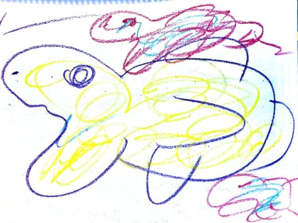 #5歳 魚1