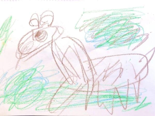 #5歳 キリン