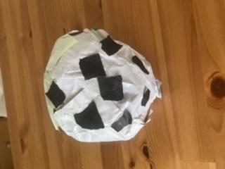 #2歳 サッカーボール