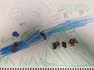 #4歳 自然の中の動物たち